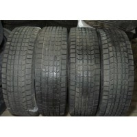 """№384. Почти без износа. Жирный зимний комплект Dunlop на 16"""" 215/70R16 (Япония, липучки)"""