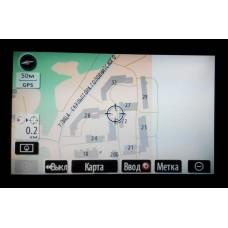 Навигационный диск Toyota/Lexus для Американского рынка! На РУССКОМ языке! + Русификация