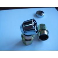 Секретные гайки. Антивандальное кольцо, 2 ключа (46210)